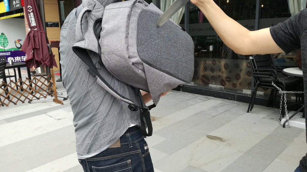 SHIELD -The Most Functional Anti Theft/Cut/Stab Backpack project video thumbnail