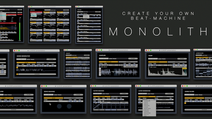 Select your favorite modules freely