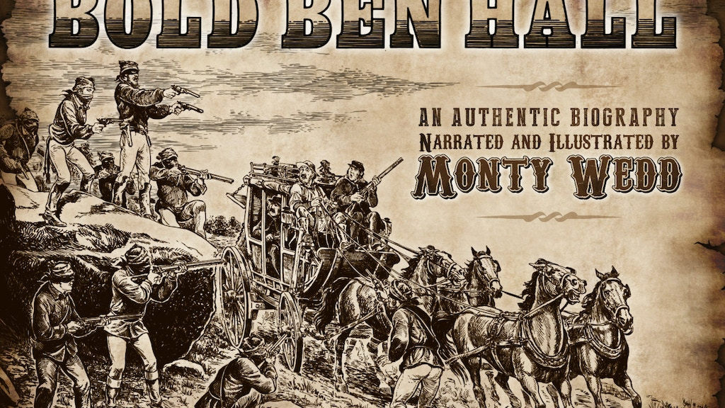 Australian Bushranger Ben Hall - a pictorial biography project video thumbnail