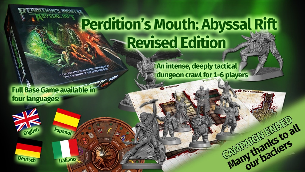 Perdition's Mouth - Revised Edition project video thumbnail