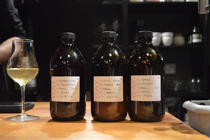 The Wilderness - Drinks pairing with each course