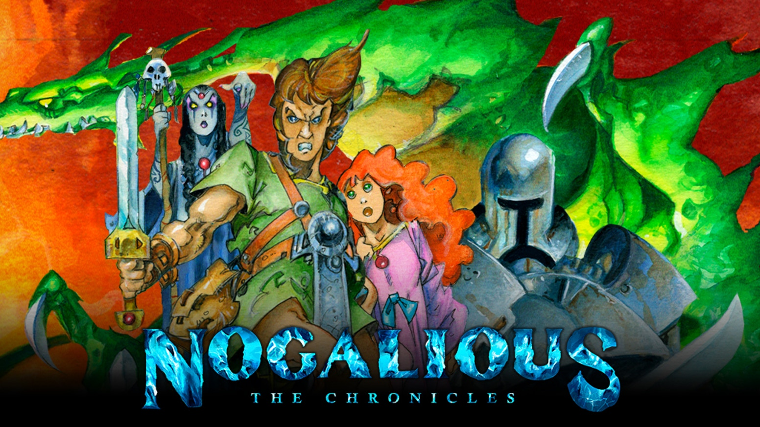 Nogalious is a retro-style platformer/puzzle game where you gain a few wizard abilities in order to progress and save the day.