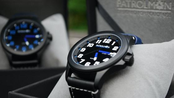 Patrolman watches - A specialist Law Enforcement wrist watch
