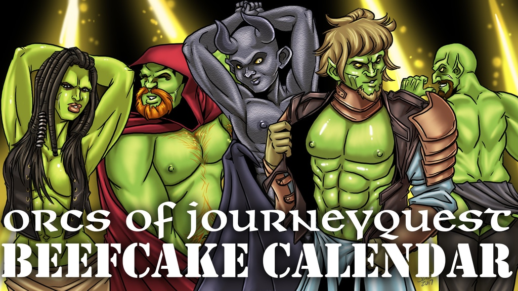 ORCISH BEEFCAKE CALENDAR (2018) project video thumbnail