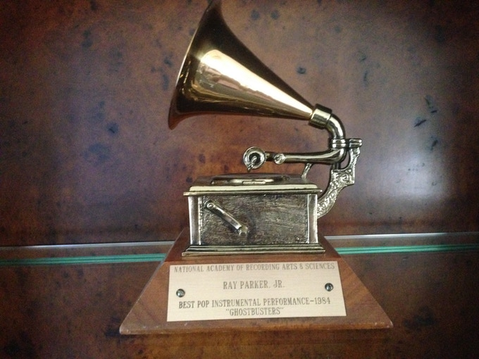 Ray Parker Jr's Grammy for Ghostbusters