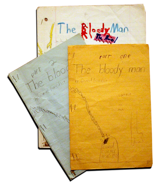 I actually wrote the first incarnation of the story in the 80s when I was 9 years old.