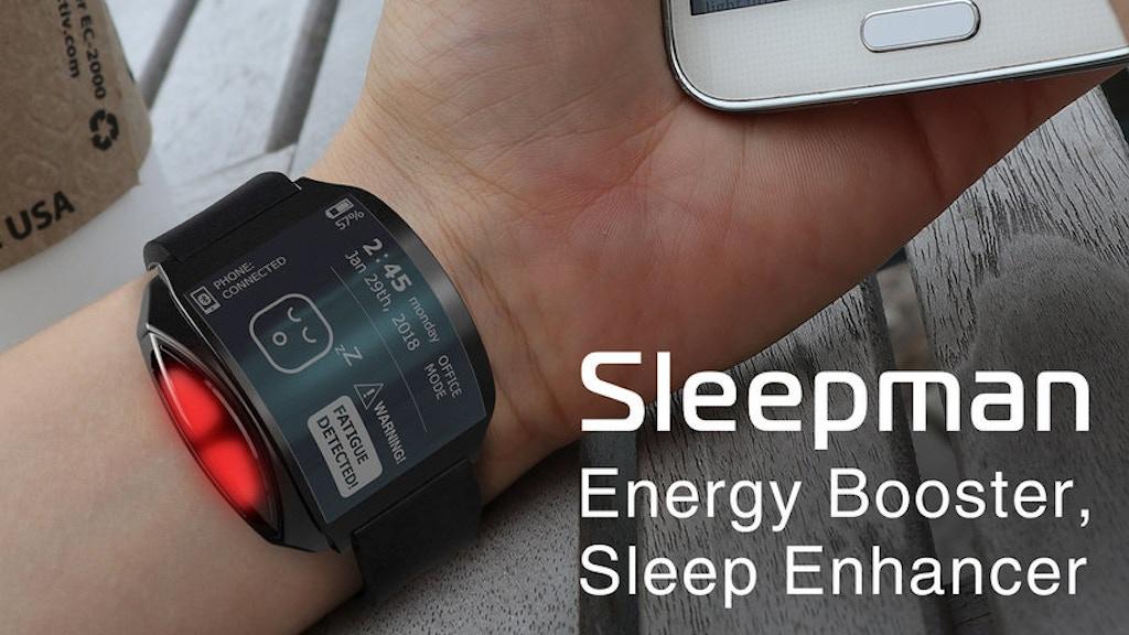 Sleepman: sleep enhancer, energy booster & doze-off alert!