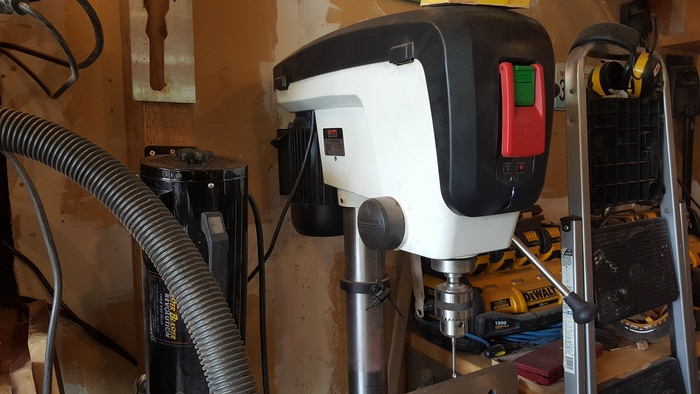 New Jet DrillPress.. A real tool and an upgrade from the POS we fought with for more than  a year. THANK YOU!