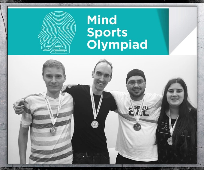 TRENCH Champions at the Mind Sports Olympiad