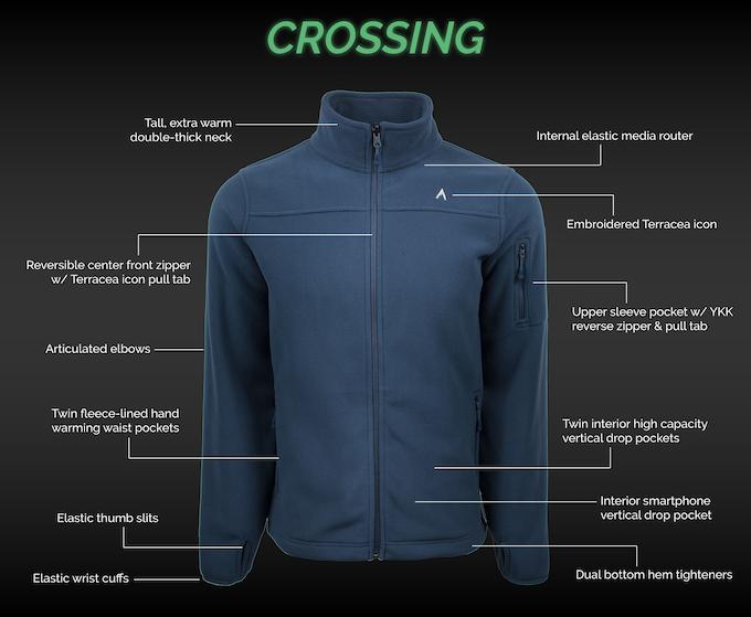 Crossing Fleece Jacket (Men's & Women's)