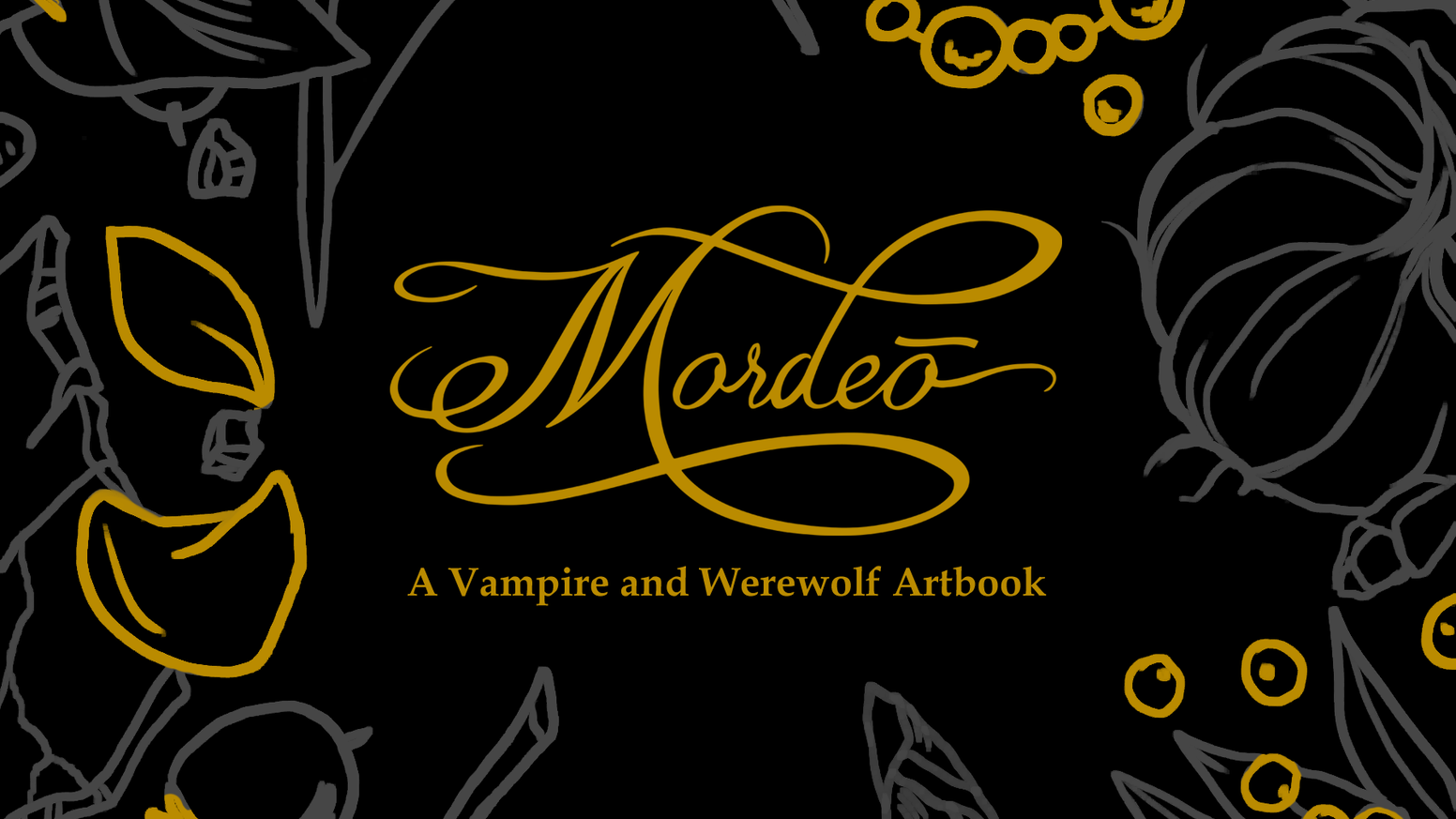 An original illustration artbook dedicated to vampires and werewolves.