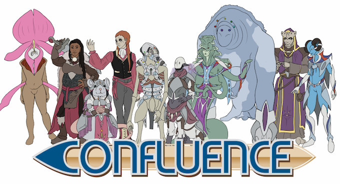 The Core 10 Races of Confluence