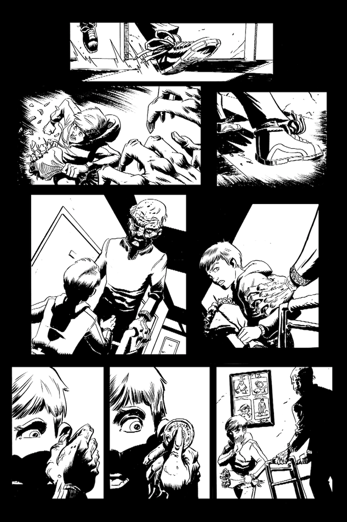 A page from AND FOR MY LAST TRICK by John Broglia & Ryan Fassett