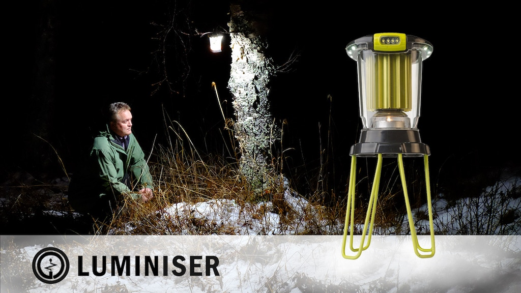 Luminiser Lantern | Powerful LED light from a tea candle.