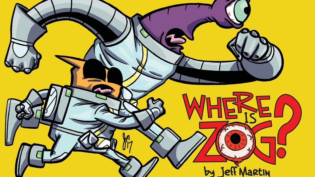 Where Is Zog? - a graphic novel of sci-fi misadventure! project video thumbnail