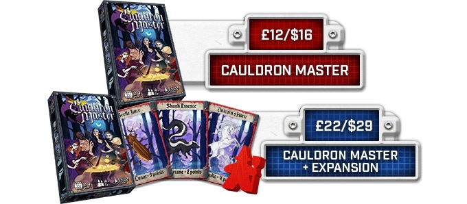 Please message us once you have added on Cauldron Master