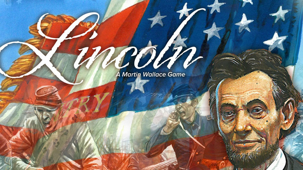 Martin Wallace's Lincoln ACW board game project video thumbnail