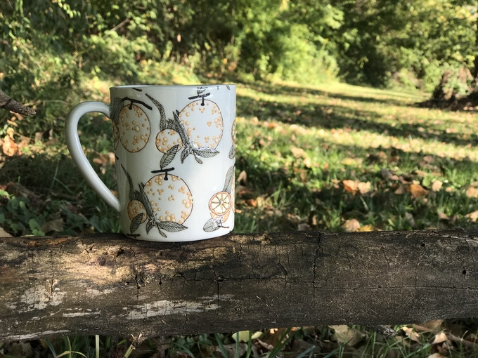SKT Orange Blossom Mug