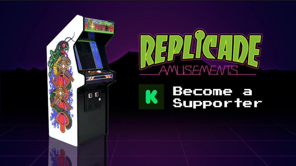 """RepliCade: Mini Centipede Arcade Machine Replica 12"""" Tall project video thumbnail"""