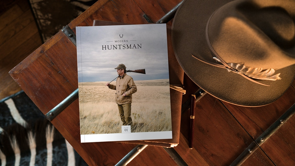 Modern Huntsman: Volume One - A Biannual Magazine project video thumbnail