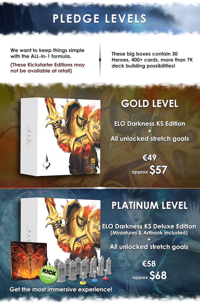 ELO Darkness by Reggie Games — Kickstarter