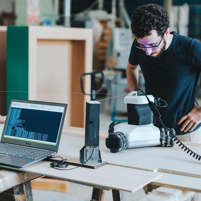 Goliath CNC - An Autonomous Robotic Machine Tool for Makers by