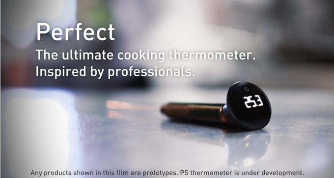 Perfect – the ultimate kitchen thermometer. Inspired by professionals, available for everyone with a passion for cooking.