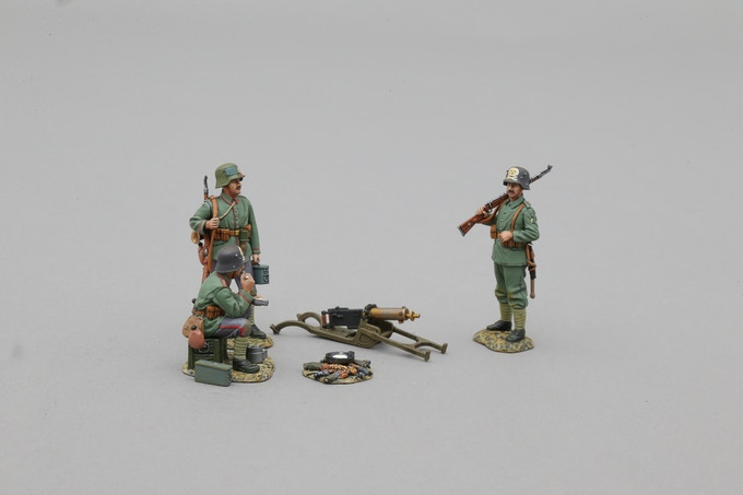 Freikorps Maxim MG set in 1/32 scale