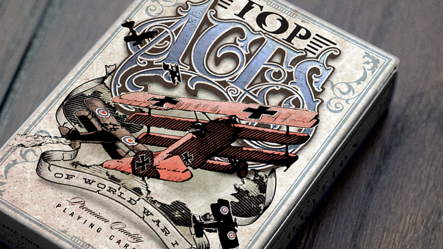 Top Aces of WWI Playing Cards by Jody Eklund — Kickstarter
