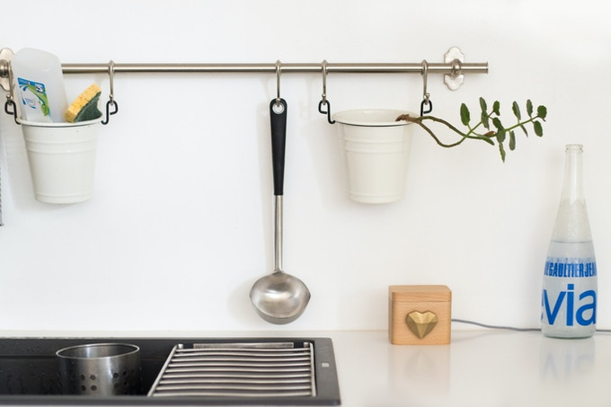 Your Lovebox can be placed in your kitchen.
