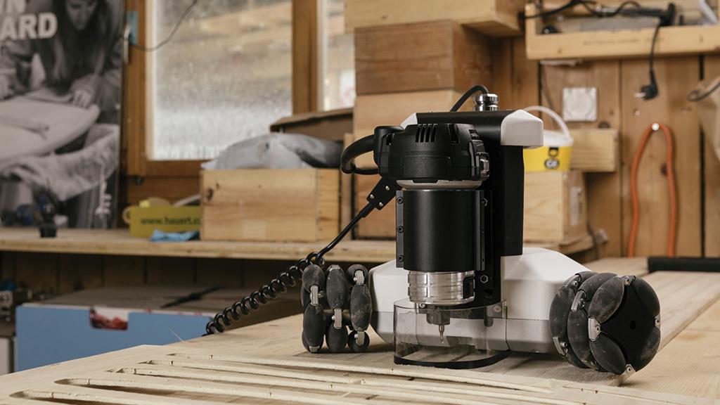 Goliath CNC - An Autonomous Robotic Machine Tool for Makers project video thumbnail