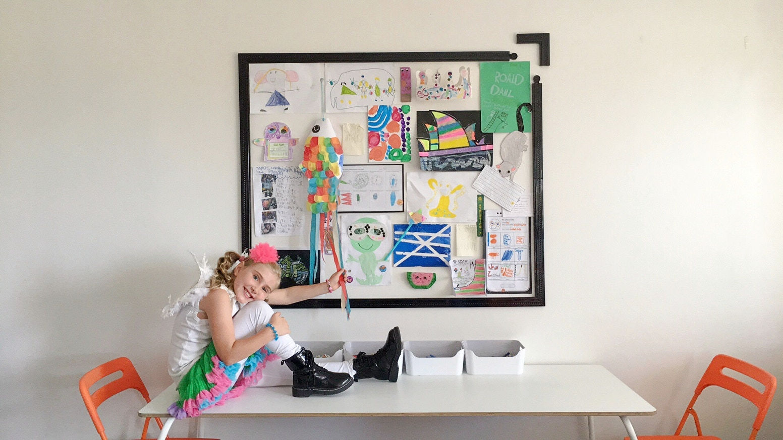 Give your child's artwork the attention it deserves. Finally a frame you can resize! Successfully Funded !!
