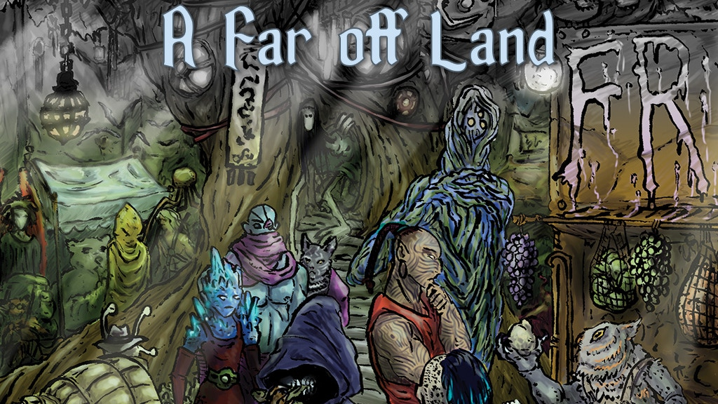 A Far Off Land, A Fate RPG in Two Worlds project video thumbnail