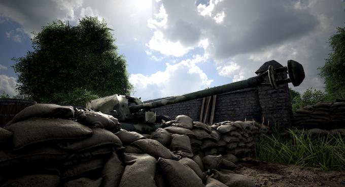 Player-deployed & operated Pak 40 Anti-Tank Gun