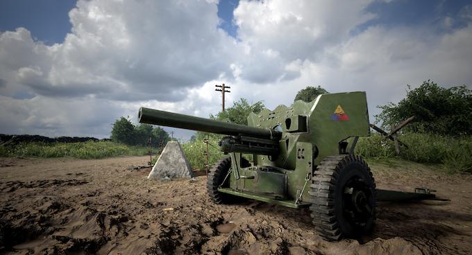 Player-deployed & operated 57mm Anti-Tank Gun