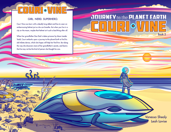 COURI VINE book 2 - Journey to the Planet Earth