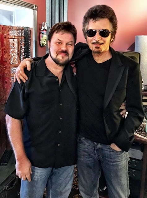 Me and Gino at his studio in Oregon - August 2017