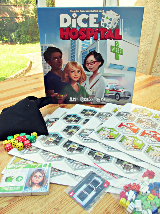 Prototype copy of Dice Hospital