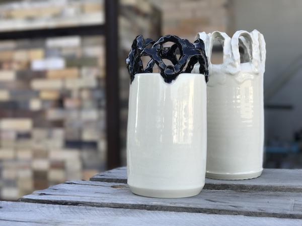 Pinched Vase by Beth Suellentrop