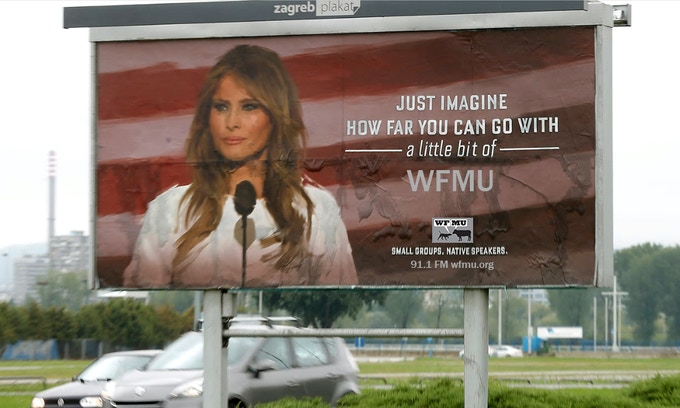 Billboard 13: Melania by listener Daniel (Click here for the back story.)