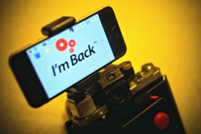 In the new version of I'm Back, you can use your Smartphone or Tablet as a display!