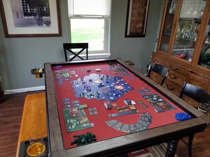 Game Toppers Quality Affordable Portable Gaming Table