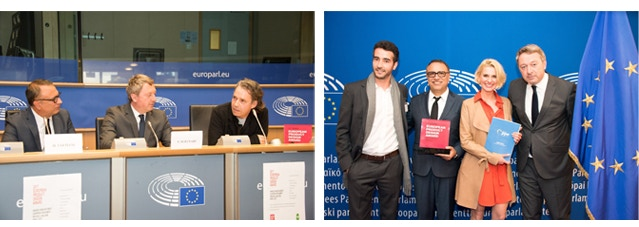 ePDA - European Product Design Award ceremony in the European Parliament in Brussels