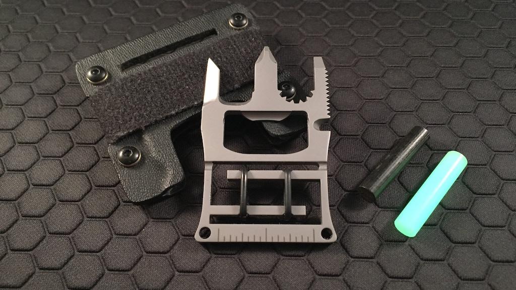 B•A•T Trident: 12 Function Mini Multi-tool project video thumbnail