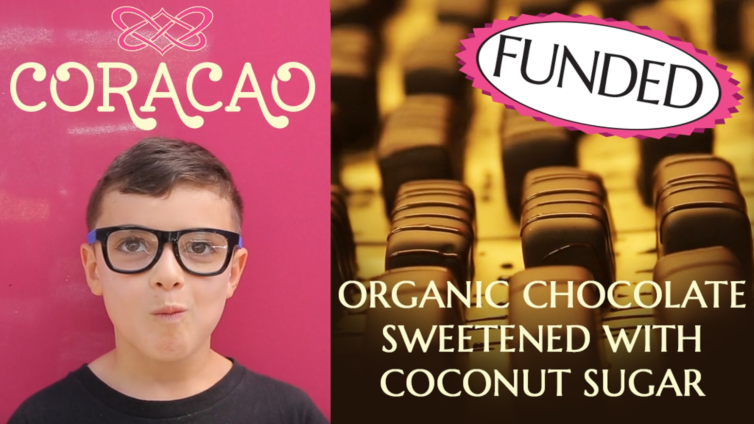 100% FUNDED! Healthier VEGAN & PALEO candies & chocolates. All of it sweetened with low-glycemic coconut sugar. SHOP OUR STORE!