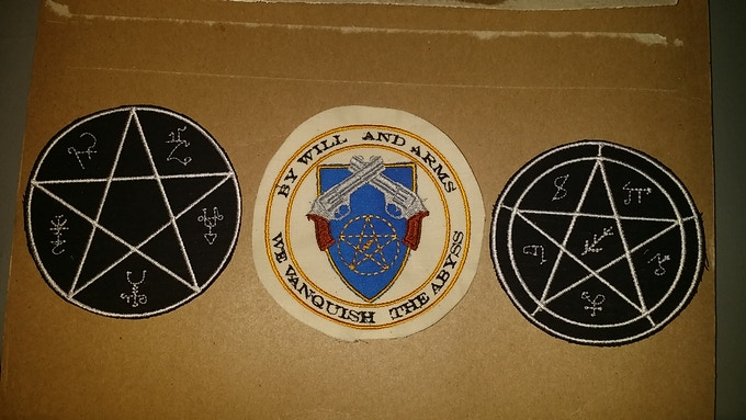 Potential patches. The middle one is exclusive to the Apprentice tier.