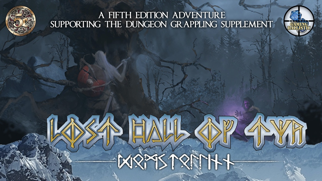 Lost Hall of Tyr: A 5e Adventure (Dungeon Grappling support) project video thumbnail