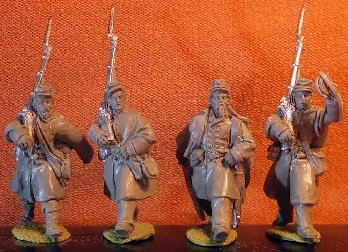 Irish Brigade marching to the attack