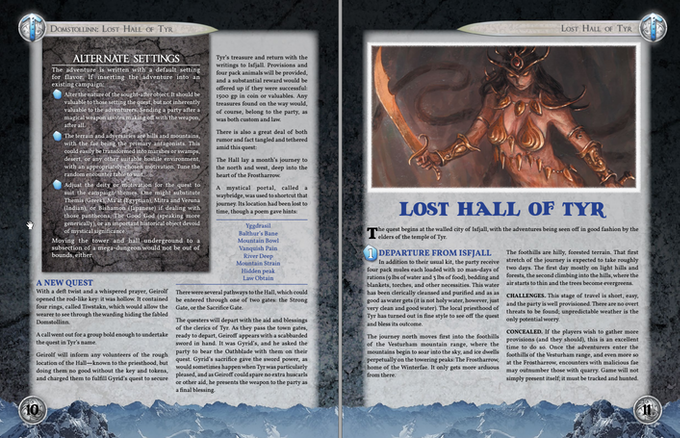 Layout Example with Placeholder Art from Dungeon Grappling
