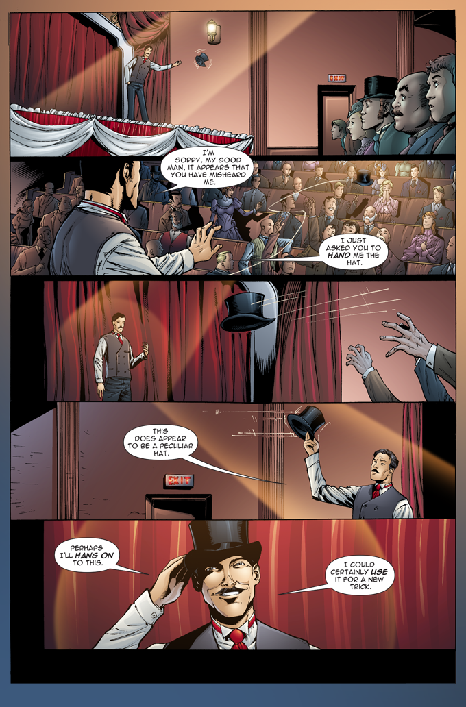 The Gilded Age - Issue #1 - Page 2 - Pencils - Sheldon Mitchell - Inks -Rich Perotta - Colors - Thomas Chu